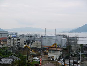 原料部小屋浦工場